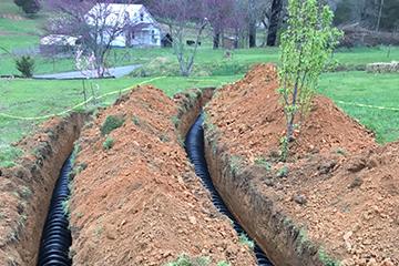 drain fields